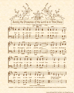 Sweet Hour Of Prayer - Christian Heritage Hymn, Sheet Music, Vintage Style, Natural Parchment, Sepia Brown Ink, 8x10 art print ready to frame, Vintage Verses