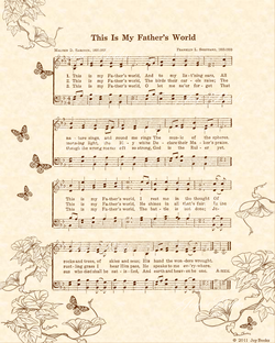 There's Something About That Name - Christian Heritage Hymn, Sheet Music, Vintage Style, Natural Parchment, Sepia Brown Ink, 8x10 art print ready to frame, Vintage Verses