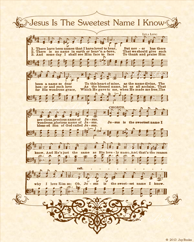 Sheet Music And Lyrics To Joy To The World: VintageVerses