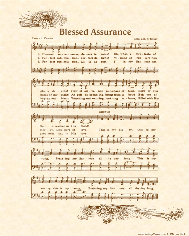 Blessed Be The Name - Christian Heritage Hymn, Sheet Music, Vintage Style, Natural Parchment, Sepia Brown Ink, 8x10 art print ready to frame, Vintage Verses